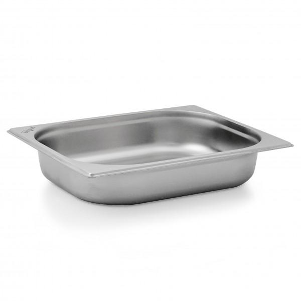 ZELSIUS Edelstahl Gastronormbehälter GN 1/2 65 mm tief