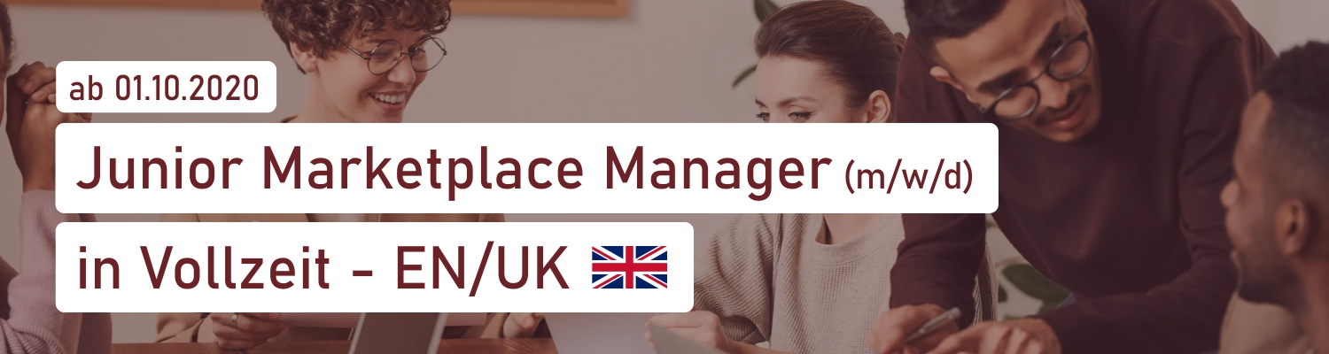 Junior Marketplace Manager