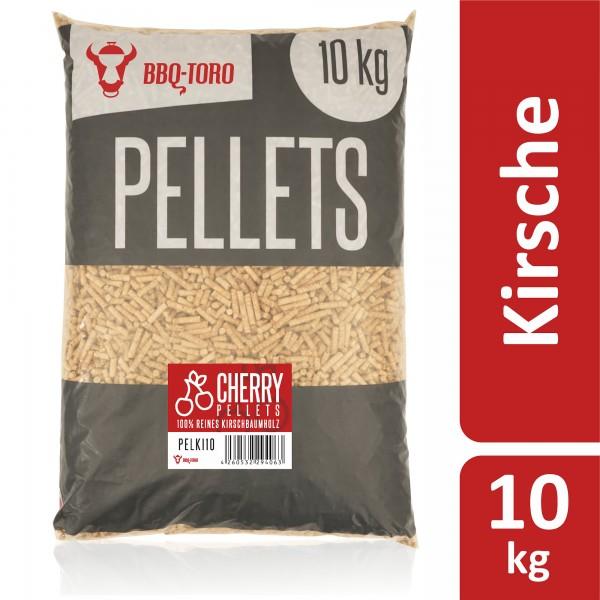 BBQ-Toro 10 kg Cherry Pellets aus 100% Kirschbaumholz   Kirschpellets