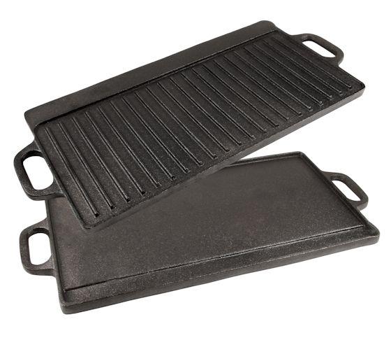 wende grillplatte gusseisen voreingebrannt griffe cs clever shoppen im. Black Bedroom Furniture Sets. Home Design Ideas