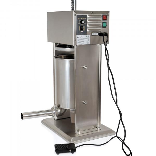 Zelsius elektrische Profi Wurstfüllmaschine, 10 Liter, mit Fußpedal