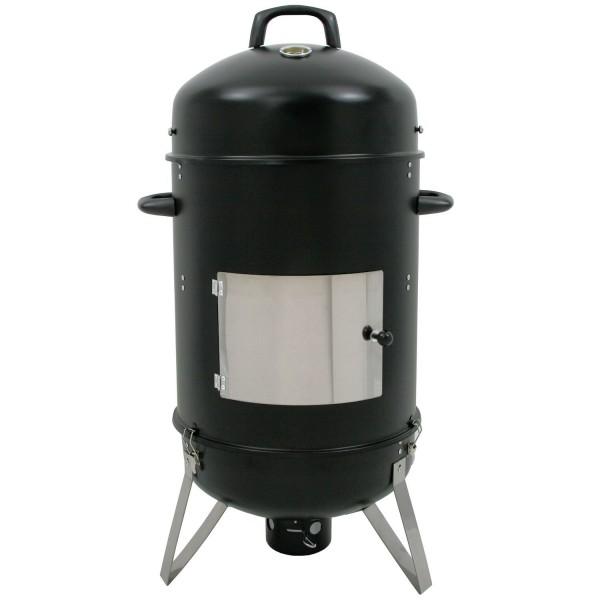 "BBQ-Toro Räuchertonne ""Hickory"", Ø 46 cm Räucherofen Smokertonne"