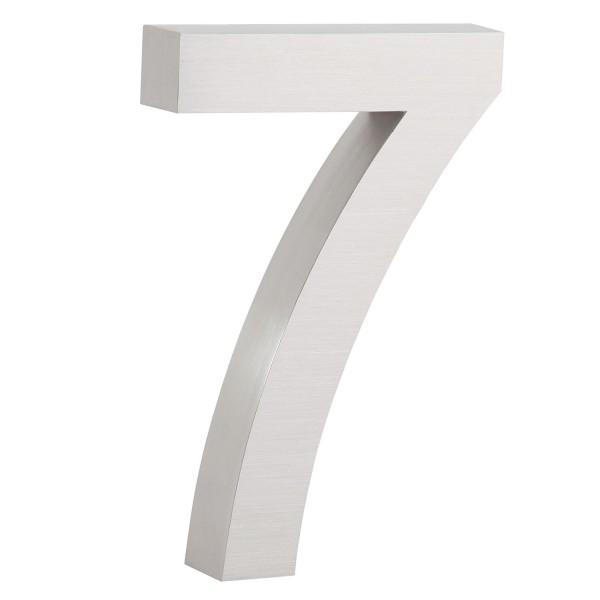 "ZELSIUS Edelstahl Hausnummer ""7"""