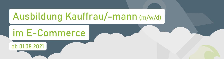 Ausbildung Kauffrau/-mann im E-Commerce
