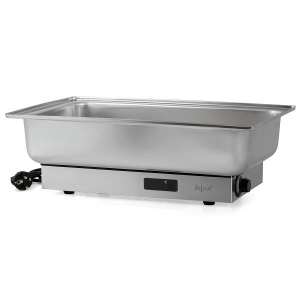 Zelsius Elektrischer Edelstahl Chafing Dish für GN 1/1 Behälter
