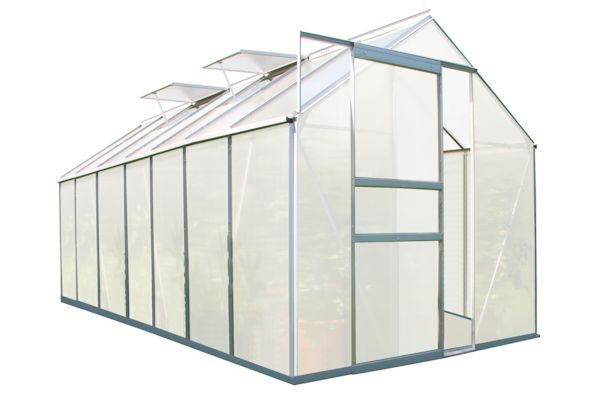 zelsius aluminium gew chshaus 430 x 190 cm 7 segm 6 mm platten cs clever. Black Bedroom Furniture Sets. Home Design Ideas