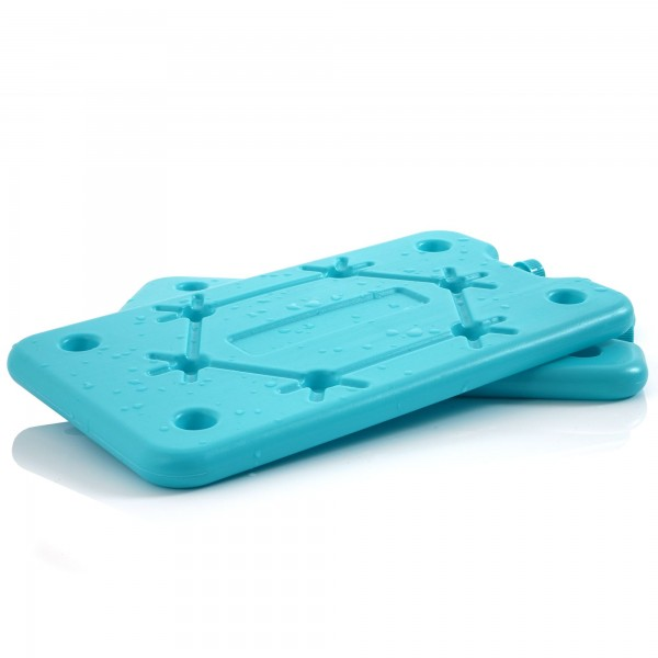 CampFeuer 2er Set Kühlakkus | blau | Kühlelement für Kühltasche