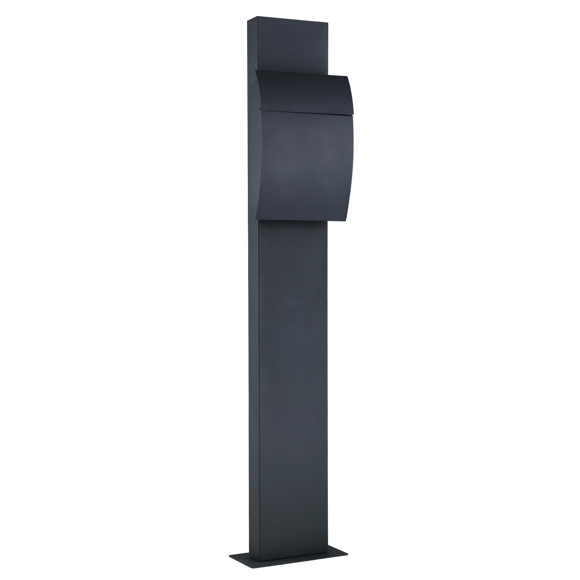 standbriefkasten anthrazit. Black Bedroom Furniture Sets. Home Design Ideas