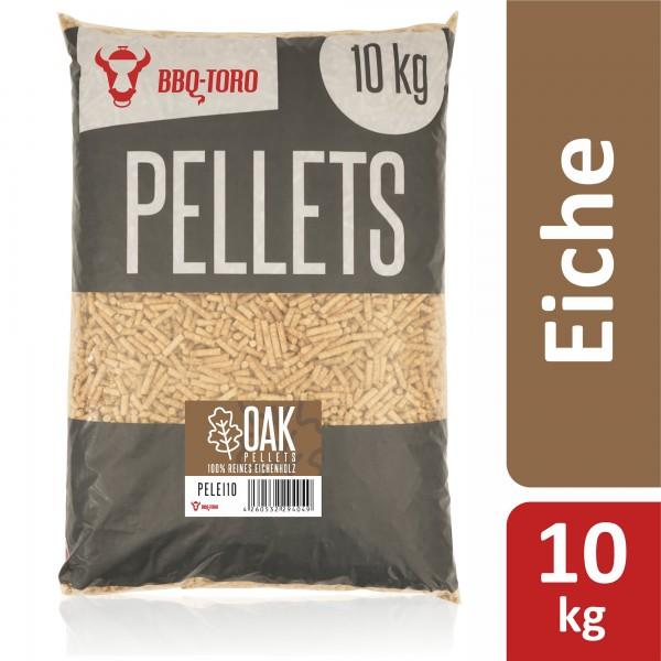 BBQ-Toro 10 kg Oak Pellets aus 100% Eichenholz   Eichenpellets