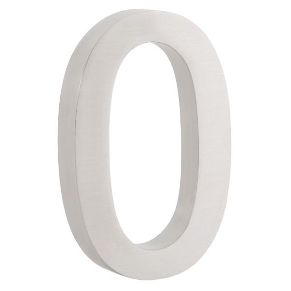 "ZELSIUS Edelstahl Hausnummer ""0"""