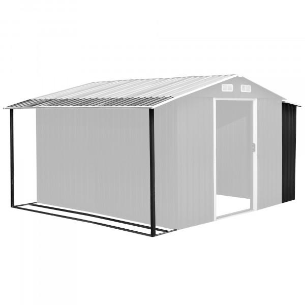 Zelsius Gerätehausanbau 303 x 156/146 x 42 cm, anthrazit, für GEHA4s
